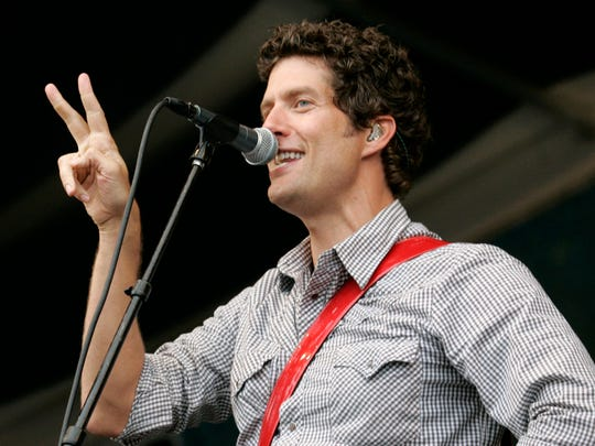 Better than Ezra lead singer Kevin Griffin performs