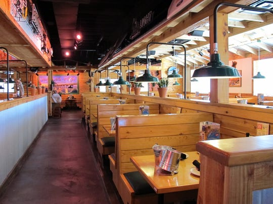 Texas Roadhouse opened Monday in Restaurant Row along Collier Boulevard at U.S. 41 East.