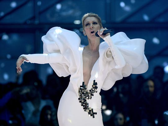 "Celine Dion reprises the song ""My Heart Will Go On,"""
