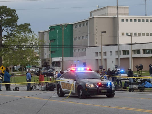 Escambia County Jail Explosion