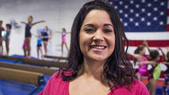 """Impact Gymnastics Academy owner Samantha Baltierrez saw a need for a different approach to coaching gymnastics. """"It is a very cutthroat sport,"""" she says, so she strives to coach with a softer approach at her gymnastics school."""