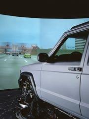 National Advanced Driving Simulator at the University of Iowa