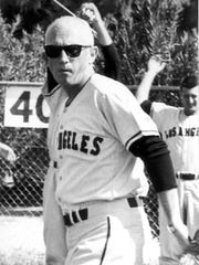 Bill Rigney was the first manager of the Los Angeles Angels and managed the team throughout most of the 1960's