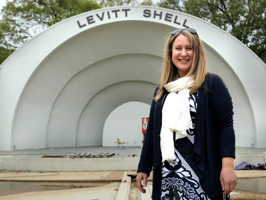 Anne Pitts has been the Levitt Shell's executive director since the venue became the Levitt Shell in September 2008.
