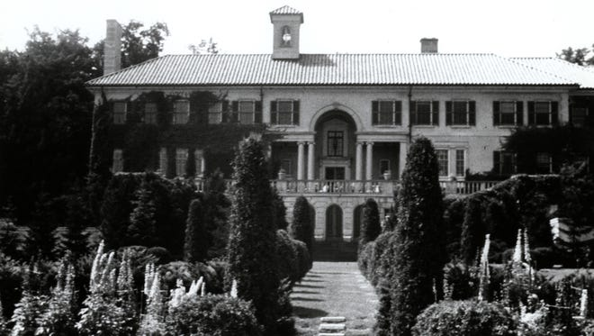 The Strong Mansion was originally built in 1925 for Alvah Griffin Strong.