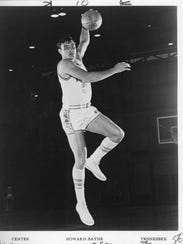 Howard Bayne played basketball at Tennessee from 1963-66.