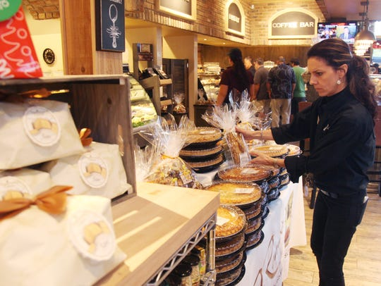 Amy Selwa, of DeRomo's Gourmet Market in Bonita Springs,