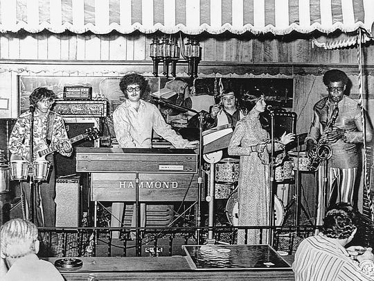 Norman Seldin and the Joyful Noyze at the Wonder Bar in with Clarence Clemons on sax.