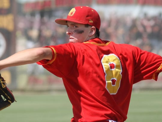 Aztec pitcher Andrew Bash made the first-team All-DVL baseball squad as both a pitcher and an infielder and was named the league offensive MVP.