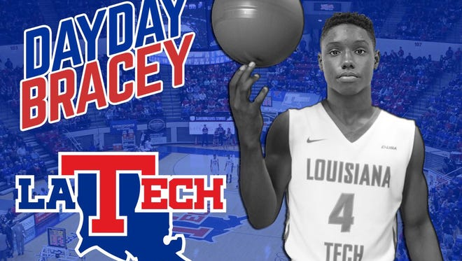 Louisiana Tech received a commitment Tuesday from Baltimore, Maryland, point guard Daquan Bracey.