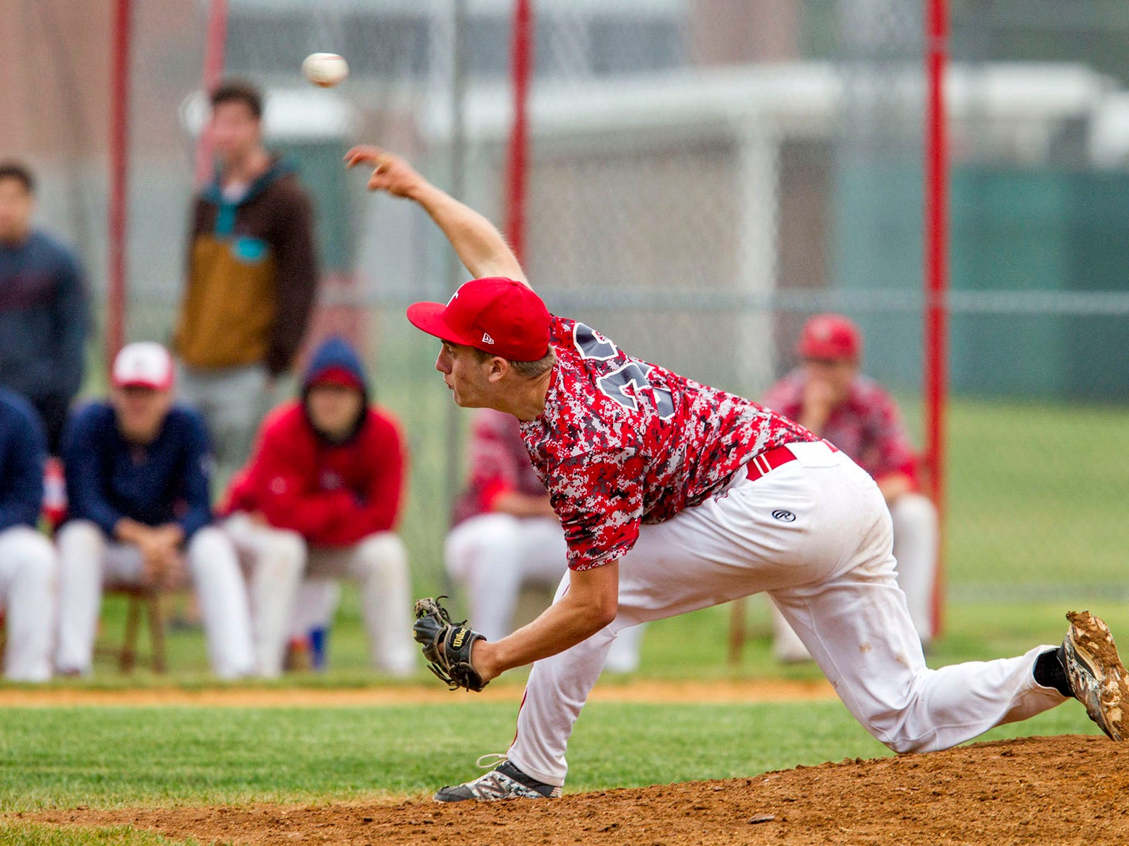 Ocean senior right-hander Blake Demeter struck out a career-high 17 Monday in the Spartans' 4-0 win over Jackson Liberty in a NJSIAA Central Group III first-round game.