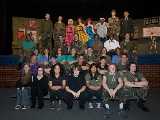 Cast and crew of 'M*A*S*H' in the fall of 2014 at Madison