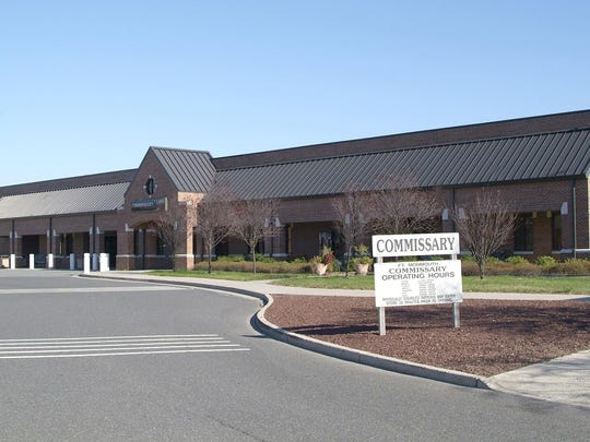 The Commissary building at Fort Monmouth