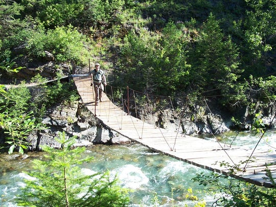 Ole Creek bridge