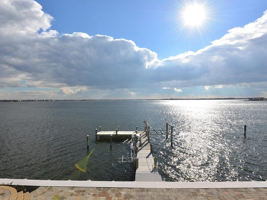 The view from this Point Pleasant mansion at 1860 Boat Point Road.
