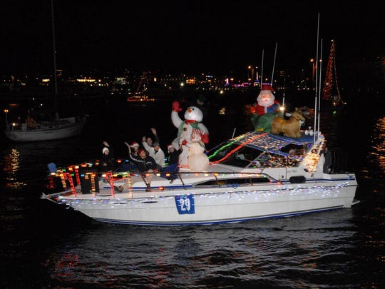 See more than 100 festively decorated boats at the San Diego Holiday Parade of Lights this season.