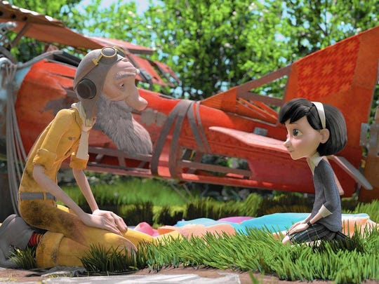 "An image from the film ""The Little Prince,"" which will"