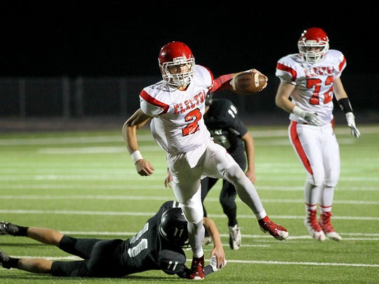Electra's Drake Cooper rushed for 265 yards and six touchdowns last week as the Tigers won 10 games for the first time since 1989.