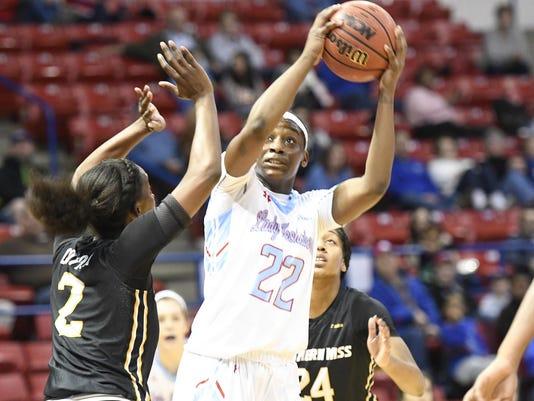 Lady Techsters Basketball vs USM