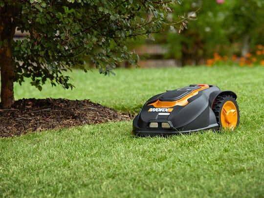 WORX will mow overnight so you wake up to a pristine lawn.