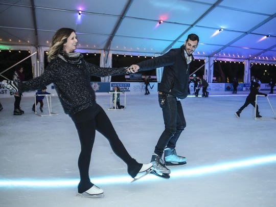 """Salem On Ice: From mid-November through mid-January, Salem's iconic Riverfront Park will be home to the first seasonal ice rink, under 8,400-square-foot tent, 10 a.m. to 10 p.m. daily Nov. 18-Jan. 21, with a special """"soft opening"""" 7 to 8:30 p.m. Friday, Nov. 17, Salem's Riverfront Park, 116 Marion St. NE, Salem. Cost is $12 ages 3 to 12 and $15 ages 13 and older for each 90-minute session (includes skate rental)."""