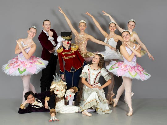 "Principals in the CBT production of ""The Nutcracker"""