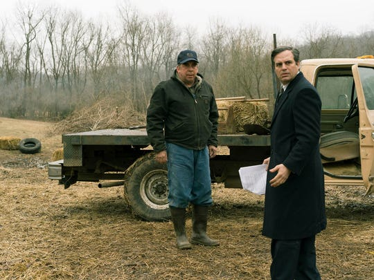 """Bill Camp, left, and Mark Ruffalo in a scene from """"Dark Waters."""""""