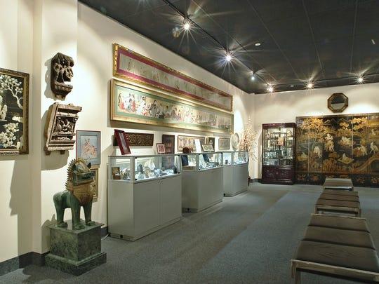 The museum's Oriental Room.