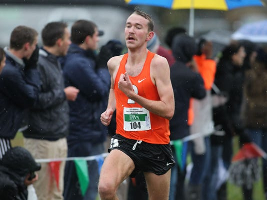 Princeton men's and women's cross country HEPS