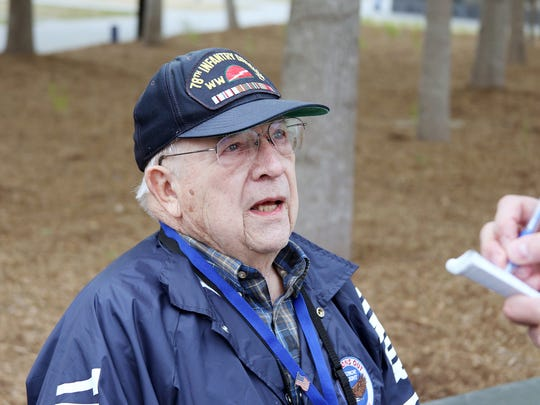 Lynn Juckett talks about what he enjoyed seeing during Saturday's Honor Flight.