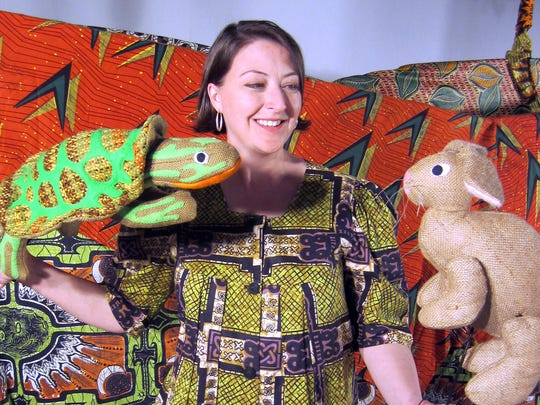 """Puppet Arts Theatre's """"Sahara Zoo"""" with folk tales from Africa is among the draws at the Performing Arts Festival for Children at the Mississippi Agriculture and Forestry Museum."""