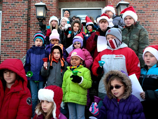The Welsh Hills Handbell Choir will perform again this year in from of the post office Saturday afternoon during the Granville Candlelight Walking Tour, as it did last year.