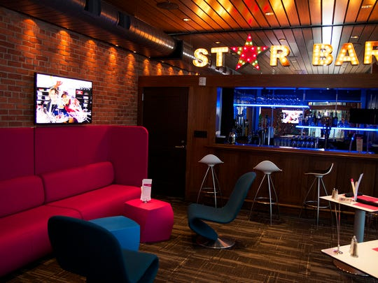 The Star Bar is on the top floor at The Prospector Theater in Ridgefield, Conn. and offers a full menu.