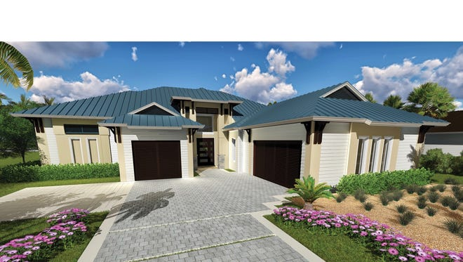 KTS Homes' Lido floor plan has a base price of $1,563,660, including a standard home site.