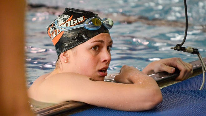Lillie Hosack defended her state title in the 200 IM and helped Cedarburg finish as the Division 1 state runner-up