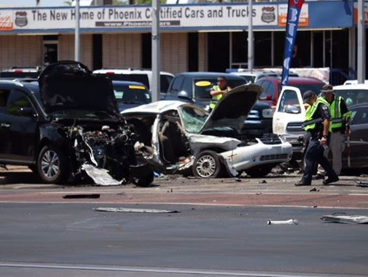Fatal crash at Main Street and Mesa Drive intersection in Mesa