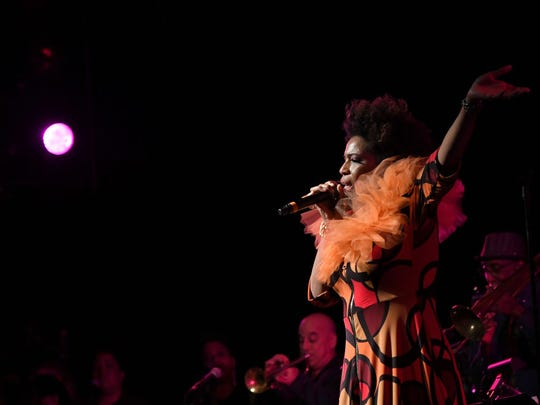 Macy Gray performs on stage at the 13th Annual MusiCares