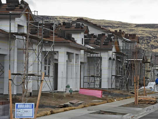 The Heartwood Estates are under construction in Wingfield