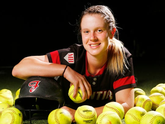 Kc Clapper of Frontier High School is the 2018 Journal