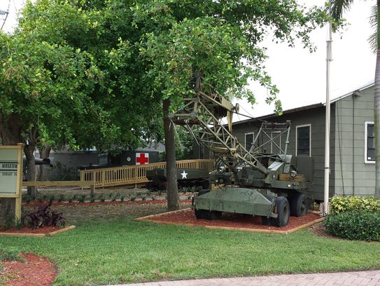 Visitors are welcome to the military museum every Saturday.