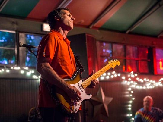 Dave Keller and his band performs at Halviorson's Upstreet