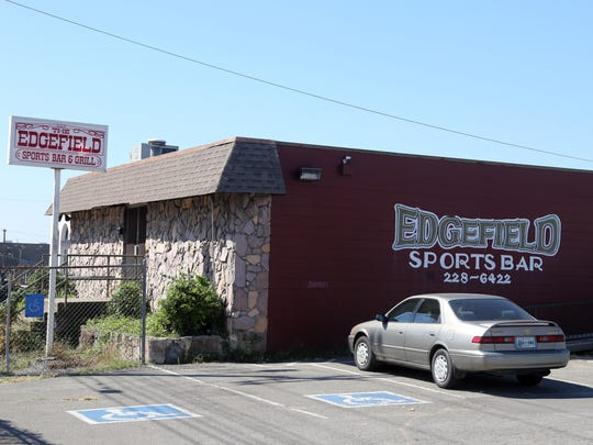 Edgefiled Sports Bar & Grill on Woodland Street.