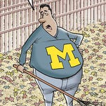 Michigan vs. Michigan State cartoon caption contest winner