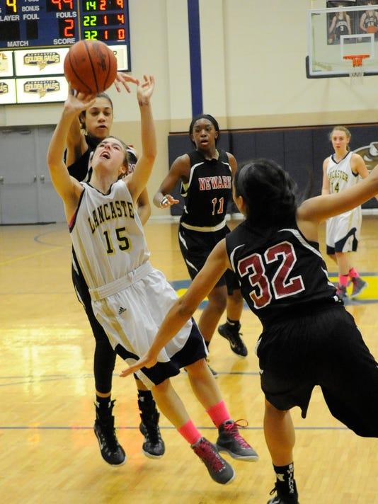 lhsvnewark lhs v newark lancaster high school girls basketball