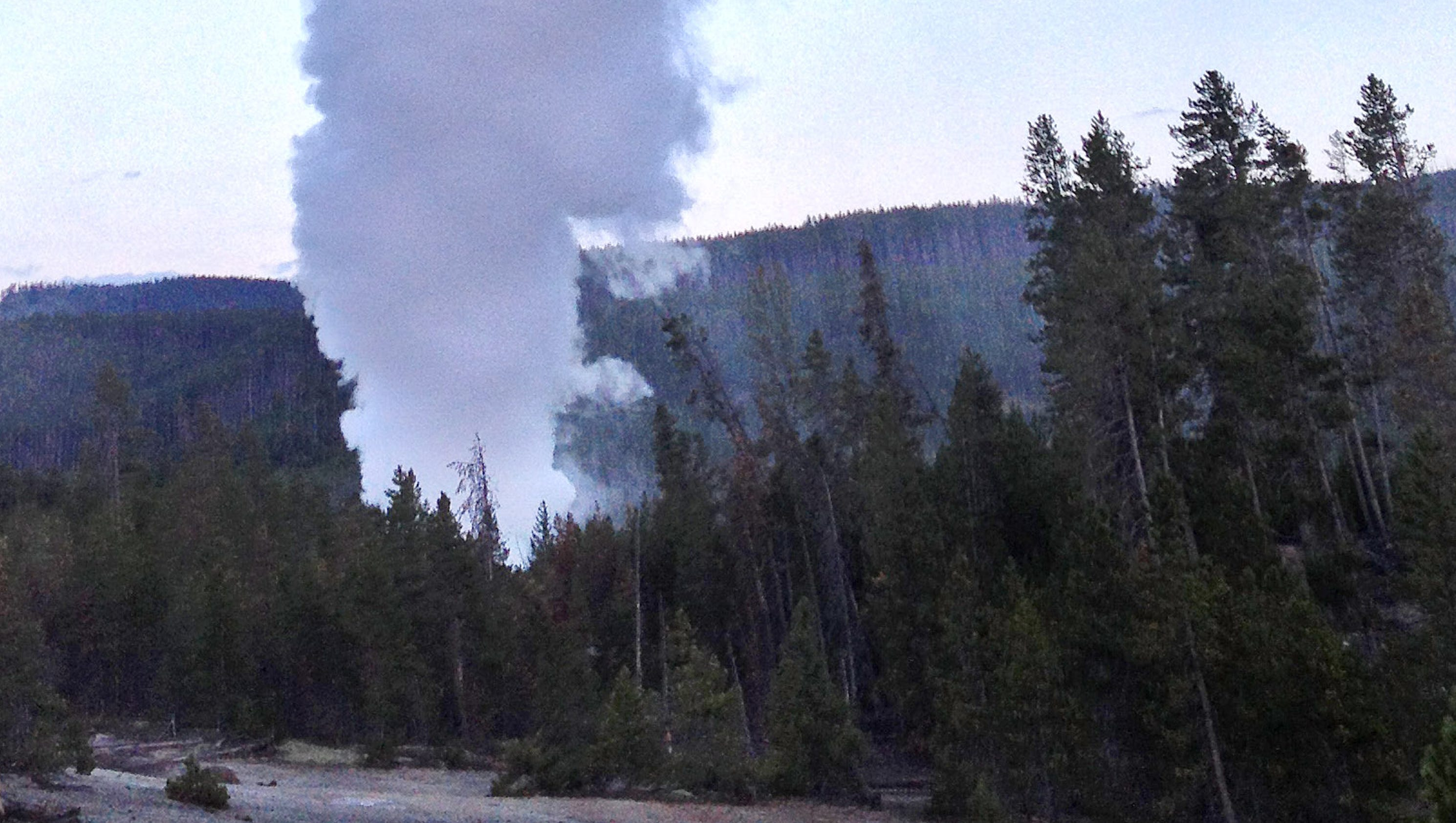 yellowstone is the largest geyser local It's been quite a few months of activity in yellowstone national park where steamboat geyser – the world's tallest – is approaching a record number of eruptions this year.