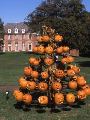 Visit the annual October Great Pumpkin Glow Saturday and Sunday at Kingwood Center Gardens. See dozens of glowing pumpkins in the dark and entries in the scarecrow contest. There is something to see for all ages.