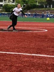 Paramus Catholic senior pitcher Katie Kudlacik had eight strikeouts as the Paladins beat Pascack Valley, 5-2.