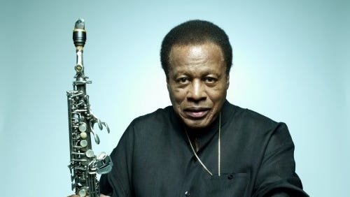 During his long career, Shorter has worked with Miles Davis and was a founding member of Weather Report.