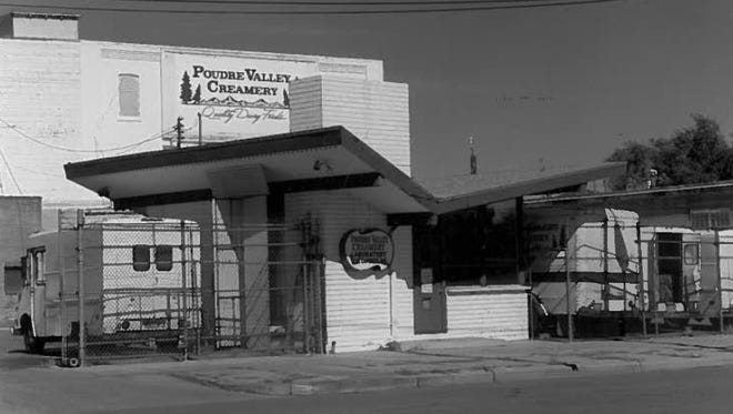 """The """"Butterfly Building"""" was once the laboratory for Poudre Valley Creamery."""