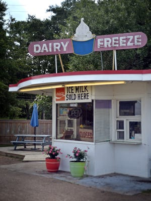 The Dairy Freeze in Crystal Springs Thursday.